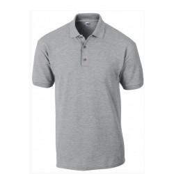 Tshirt Polo homme ados gris MARQUE GILDAN du S au XXL Qualité supérieur idée cadeau neuf