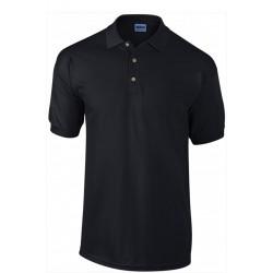 Tshirt Polo homme ados MARQUE GILDAN Noir du S au XXL Qualité supérieur idée cadeau neuf