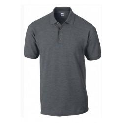 Tshirt Polo homme ados gris Anthracite MARQUE GILDAN du S au XXL Qualité supérieur idée cadeau neuf
