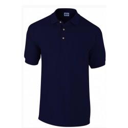 Tshirt Polo homme ados bleu marine MARQUE GILDAN du S au XXL Qualité supérieur idée cadeau neuf