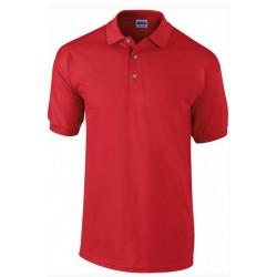 Tshirt Polo homme ados Rouge MARQUE GILDAN du S au XXL Qualité supérieur idée cadeau neuf