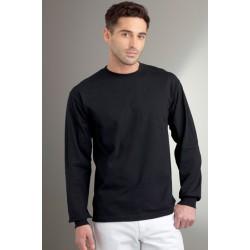 Tshirt manches longues homme ados MARQUE GILDAN noir du S au XXL vêtement 190 gr/m² Qualité supérieur neuf