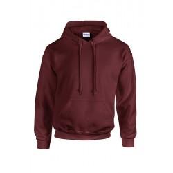 SWEAT SHIRT A CAPUCHE enfant mixte MARQUE GILDAN Marron du 5/6 au 12/14 ans vêtement qualité supérieur neuf