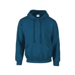 SWEAT SHIRT A CAPUCHE enfant mixte MARQUE GILDAN bleu marine du 5/6 au 12/14 ans vêtement qualité supérieur neuf