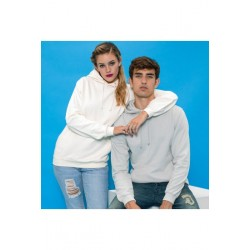 Sweat shirt à capuche Collège marque AWDIS blanc DU S A XXL vêtement MIXTE neuf
