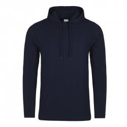 Sweatshirt à capuche HOMME ADOS LEGER marque AWDIS Bleu Marine DU XS AU XXL vêtement idée cadeau neuf