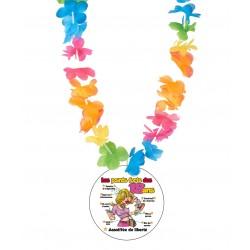 Badge humour 18 ans femme humour avec collier Hawai divers couleurs idée cadeau anniversaire neuf