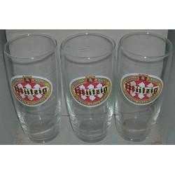 lot de 6 verres bieres miitzig collection vintage jamais servit idée cadeau neuf