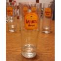 """lot de 5 verres collection drygin """" LARIOS """" tbe"""