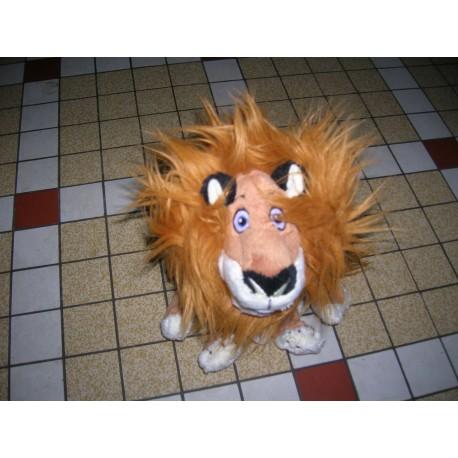 Jeuxjouet 1er age peluche lion alex madagascar 2 tbe