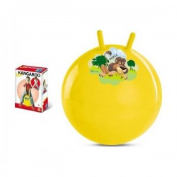 Ballon sauteur décoré Le Lion de la jungle 50 cm de diamètre enfant jeu jouet Plein air neuf