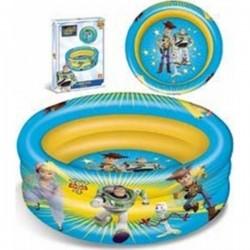 Piscine gonflable Toy Story 4 Disney 100 cm 3 boudins jardin enfant norme CE neuf