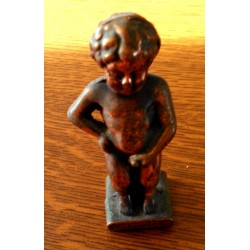 Ancien manneken-pis bronze cuivre bruxelles collection be