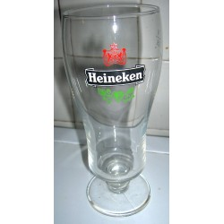 Grand Verre heineken gradué 25 cl hauteur 17 cm collection tbe