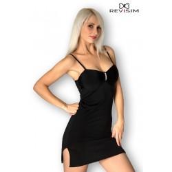 Robe noir bijou Lola sexy marque Revisim du XS au 8XL grande taille française coffret cadeau st valentin neuve