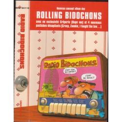 Cassette audio K7 AUDIO ROLLING BIDOCHONS - RADIO BIDOCHONS (COMPILATION 18 Titres) occasion