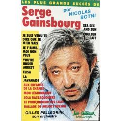 Cassette audio k7 audio les plus grands succes de Serge Gainsbourg occasion