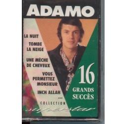 Cassette audio k7 audio Adamo 16 grands succès occasion
