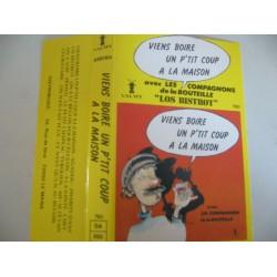 Cassette audio k7 Viens boire un p'tit coup a la maison les compagnons de la bouteille occasion