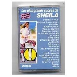 Cassette audio k7 audio Les plus grands succès de Sheila occasion