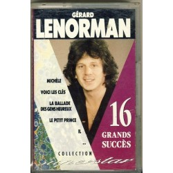 Cassette audio k7 GERARD LENORMAN - 16 Grands Succès - Collection Superstar occasion