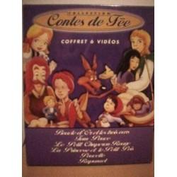 Coffret collector cassette vidéo VHS COFFRET CONTES DE FEES 6 vidéos occasion