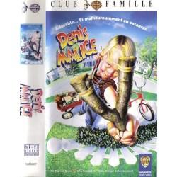 Cassette k7 vidéo vhs FILM ANIMATION POUR ENFANT DENIS LA MALICE nick castle occasion