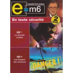 DVD E M6 - En toute sécurité - Les dangers des vacances Pack 2 DVD Documentaire Mac Lesggy Neuf Blister