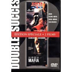 """Double DVD zone 2 """"100 contre 1"""" et """"LA LOI DE LA MAFIA"""" NEUF SOUS BLISTER"""