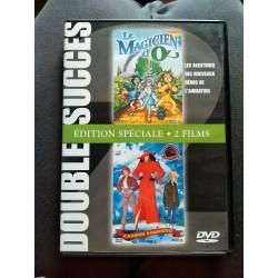 Double DVD zone 2 2 films d'animation, le magicien d'Oz et Carmen sandiego NEUF SOUS BLISTER