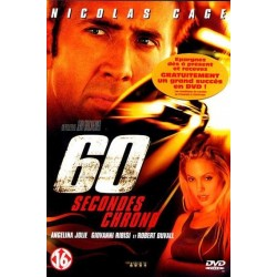 DVD zone 2 60 secondes chrono Classification : Action Nicolas Cage - Angelina Jolie collection occasion