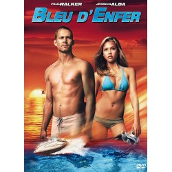 DVD zone 2 Bleu d'enfer Action - Thriller Paul Walker - Jessica Alba collection occasion