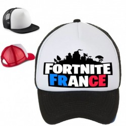 Casquette enfant brodé Fortnite France impression sublimé taille unique Idée cadeau anniversaire noel neuve