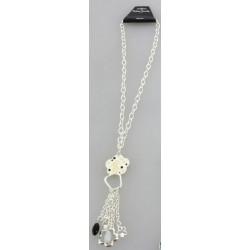 Collier chaîne à pendentif métal fantaisie v07 déco divers mariage baptême communion idée cadeau NEUVE