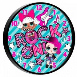Horloge pendule LOL SURPRISE! 25 cm idée cadeau anniversaire noël neuve