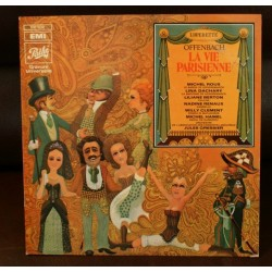 Disque Vinyle 33 tours LA VIE PARISIENNE Jacques Offenbach collection occasion