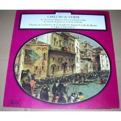 Disque Vinyle 33 tours Carlo Franci,Gino Nuci,Giuseppe Verdi choeurs et orchestre de l'académie sainte Cécile de rome occasion