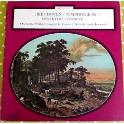 """Disque Vinyle 33 tours symphonie 7 ouverture """"Léonore"""" Beethoven collection occasion"""