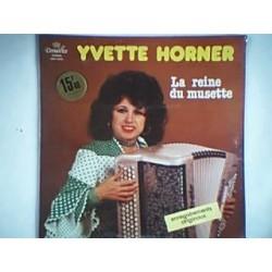 Disque Vinyle 33 tours La Reine Des Musettes - Yvette Horner 12 titres collection occasion