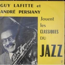 Disque Vinyle 33 tours Les Classiques Du Jazz - Guy Lafitte et André Persiany collection occasion