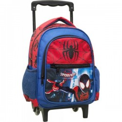 Sac à dos Trolley Spiderman licence Marvel 31 cm garcon cartable scolaire maternelle neuf