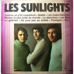 Disque Vinyle 33 tours Les Sunlights Comme Un P'tit Coquelicot - 13 titres collection occasion