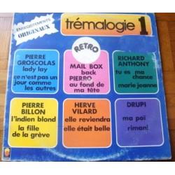 Disque Vinyle 33 tours Tremalogie 1 Pierre Groscolas,Richard Anthony,Pierre Billon... 12 titres collection occasion