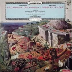 Disque Vinyle 33 tours Le Carnaval Des Animaux Pierre Et Le Loup Mireille & Jean Nohain collection occasion