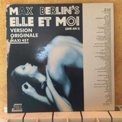 Disque Vinyle 33 tours MAX BERLIN's Elle Et Moi Disco Boogie Funk Modern Soul collection occasion