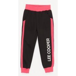 Pantalon de Jogging noir marque Lee Cooper du 4 au 12 ans fille idée cadeau anniversaire noel NEUF
