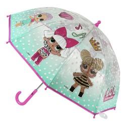 Parapluie automatique LOL SURPRISE licence officielle SORTIE SCOLAIRE IDEE CADEAU ANNIVERSAIRE NOEL NEUF