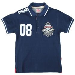 Polo manches courtes bleu licence officielle Lee Cooper du 2 au 5 ans idée cadeau anniversaire noël neuf