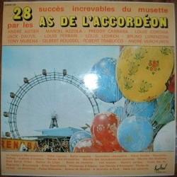 Disque 2 Vinyles 33 tours 28 Succès Increvables Du Musette par les As De L'accordéon collection occasion