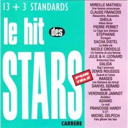 Disque Vinyle 33 tours le hits des stars 13+3 titres mireille mathieu Claude François , Dalida... collection occasion